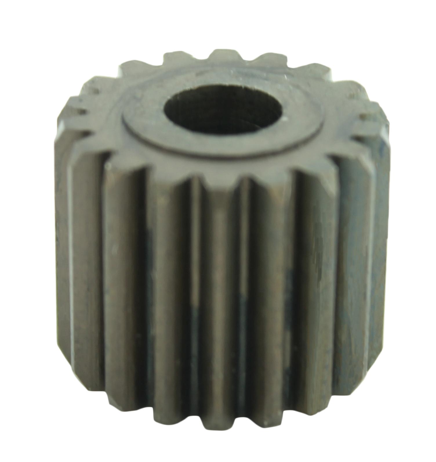 Piñón de metal Módulo 1.000, Dientes 18Z, Forma recto