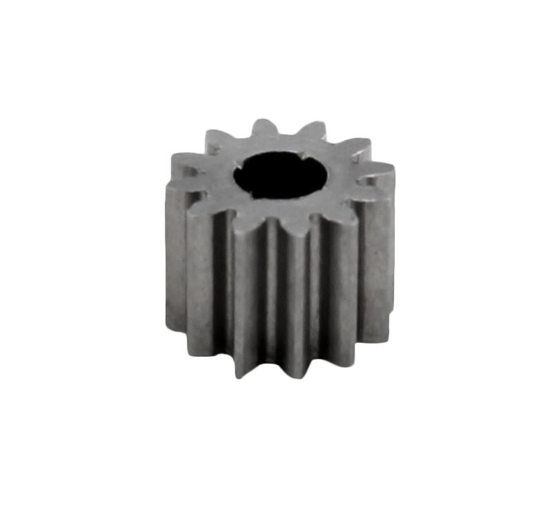 Piñón de metal Módulo 0,40, Dientes 12Z, Forma recto