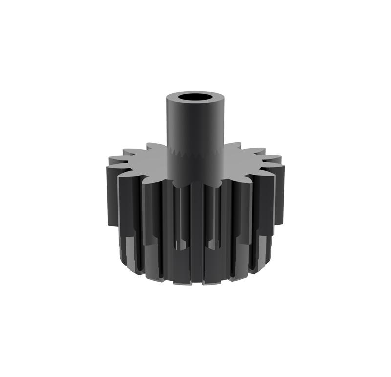 Piñón de metal Módulo 0,600, Dientes 16Z, Forma recto