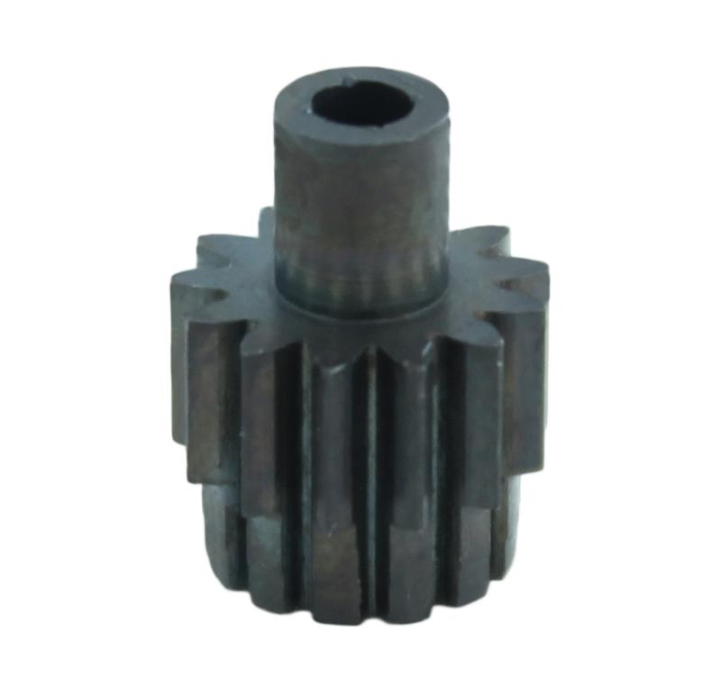 Piñón de metal Módulo 0,500, Dientes 13Z, Forma recto