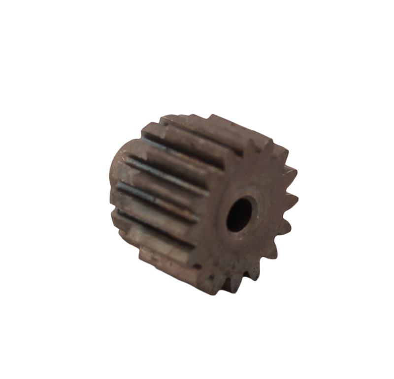 Piñón de metal Módulo 0.800, Dientes 16Z, Forma recto