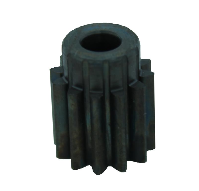 Piñón de metal Módulo 0,750, Dientes 12Z, Forma recto