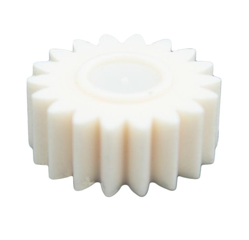 Piñón de plástico Módulo 1.000, Dientes 18Z, Forma recto