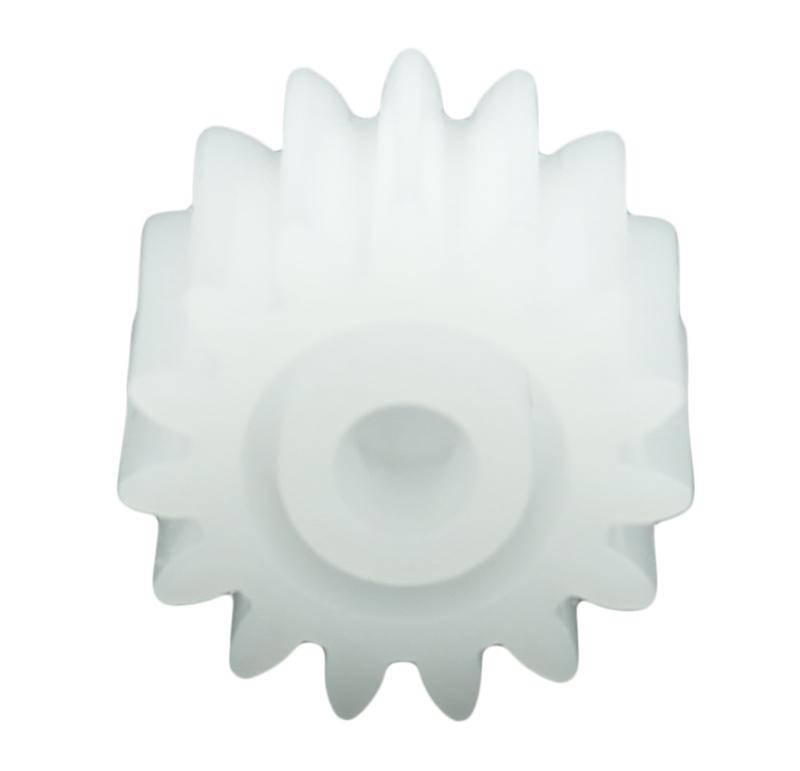 Piñón de plástico Módulo 0.800, Dientes 15Z, Forma recto