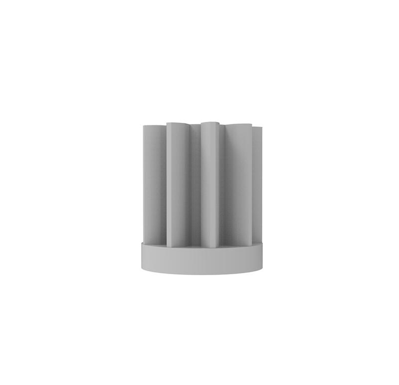 Piñón de plástico Módulo 0.500, Dientes 9Z, Forma recto