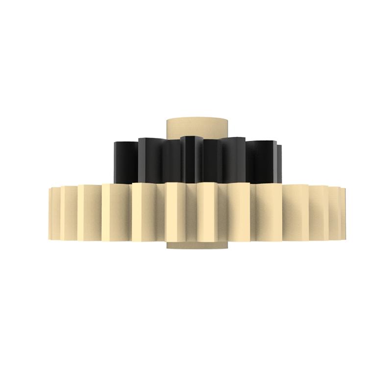 Engranaje de plástico Módulo 0.750, Dientes 30Z, Forma con piñon