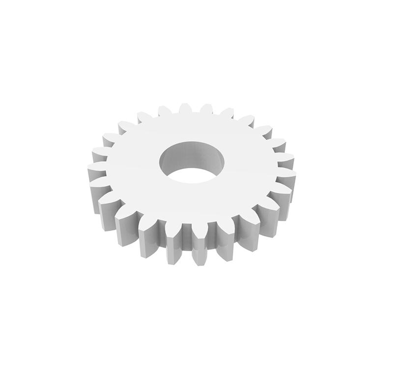 Engranaje de plástico Módulo 0.500, Dientes 24Z, Forma recto