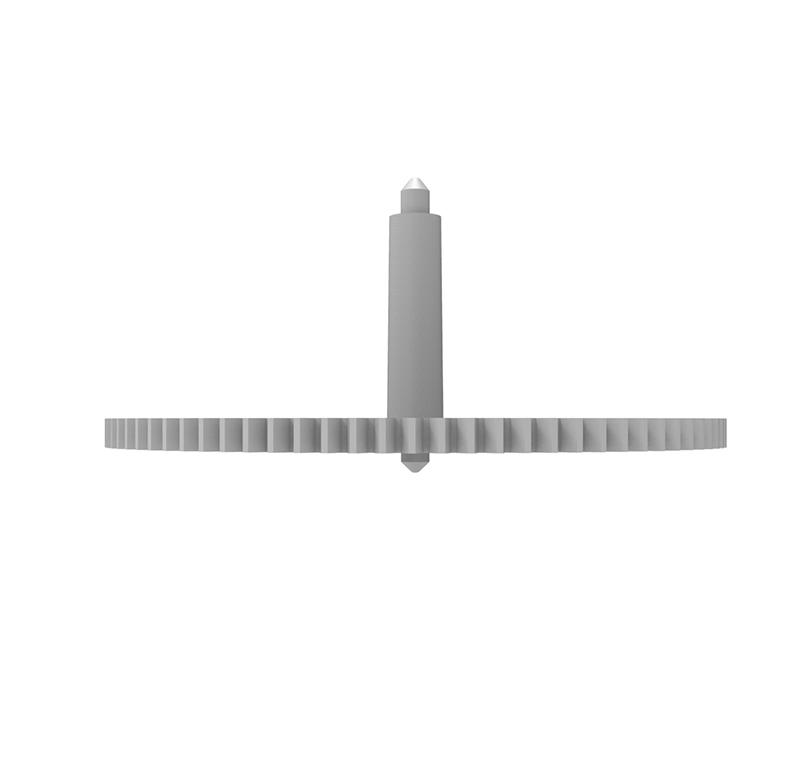 Engranaje de plástico Módulo 0.750, Dientes 84Z, Forma