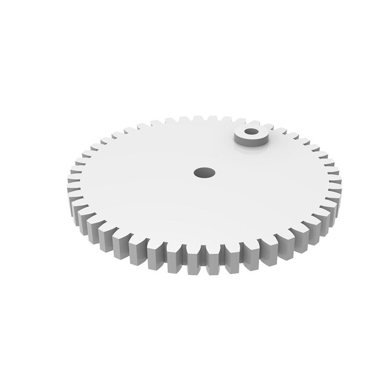 Engranaje de plástico Módulo 1.000, Dientes 48Z, Forma recto