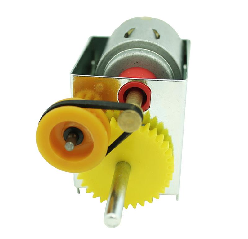 Reductor Voltaje 3V, R.P.M. 350rpm