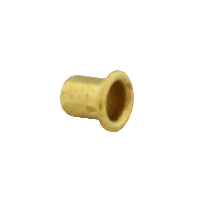 Remache tubular Diametro 4.00mm, Longitud 5.00mm, Material Latón