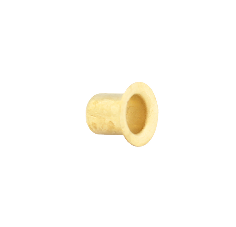 Remache tubular Diametro 5.00mm, Longitud 6.00mm, Material Latón (Pack de 30)