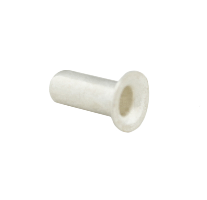 Remache tubular Diametro 2.90mm, Longitud 7.00mm, Material Aluminio (Pack de 30)