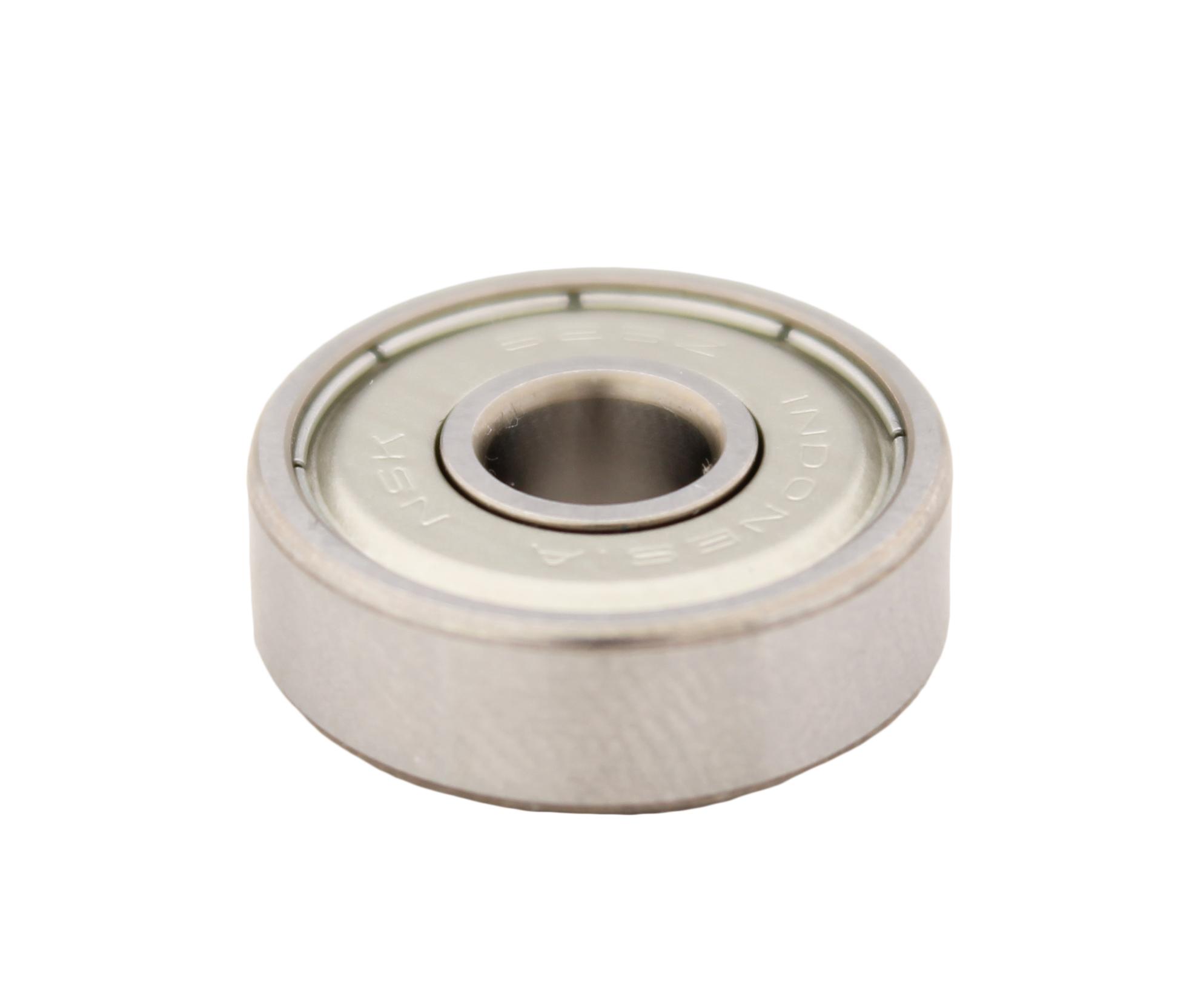 Rodamiento Diametro interior 6.00mm, Diametro exterior 19.00mm, Tipo bolas - Protección metálica  Este rodamiento tiene como accesorio un casquillo de goma para ajustar su instalación .