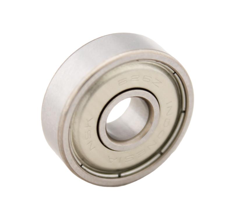 Rodamiento Diametro interior 6.00mm, Diametro exterior 19.00mm, Tipo bolas, 626-ZZ - Protección metálica