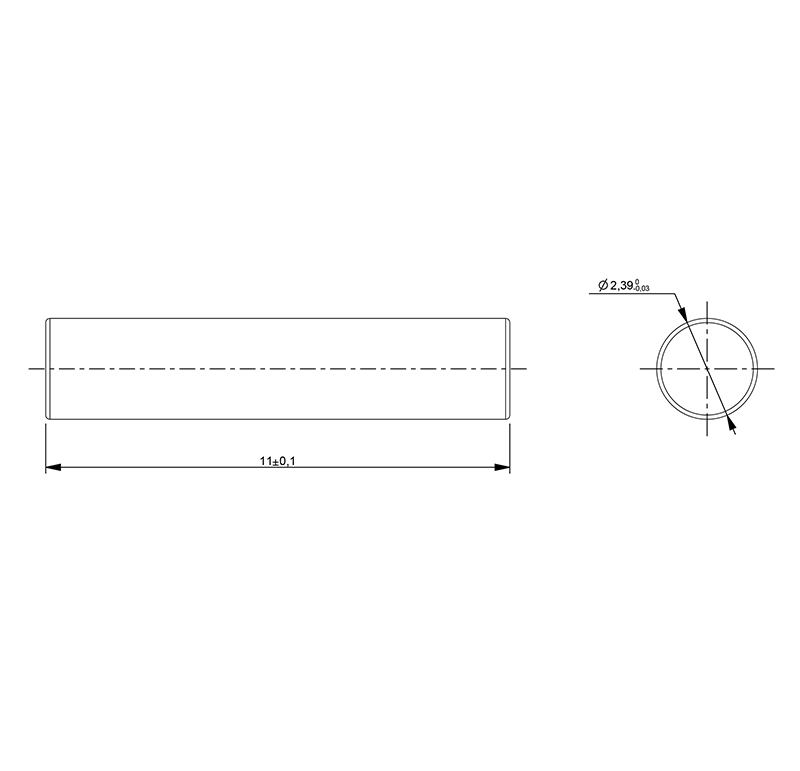 Shaft diameter