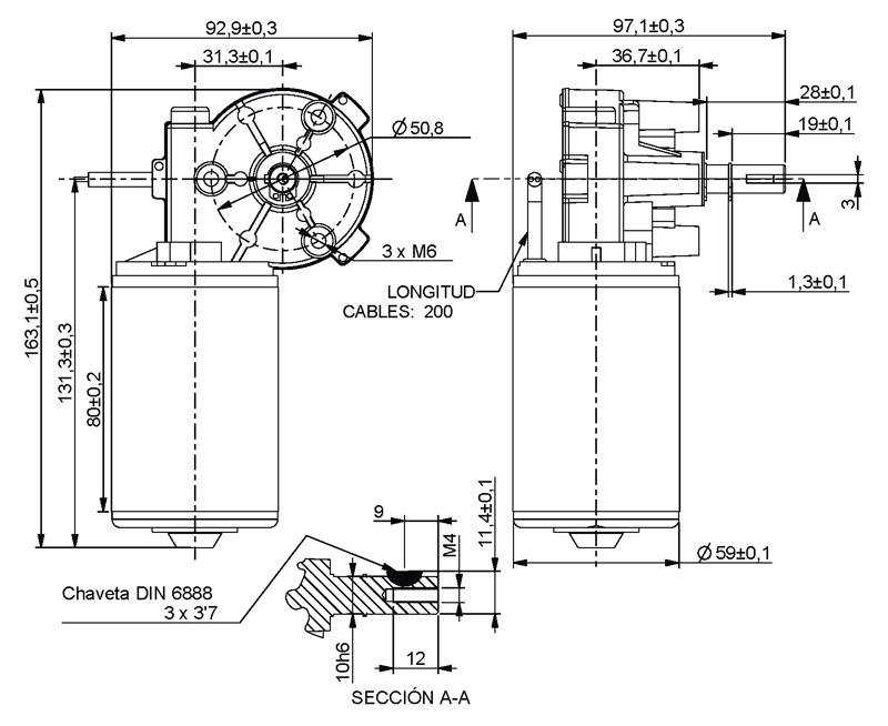 Gear Motor Dc 24v 34rpm Ref 012667 24 Mootio