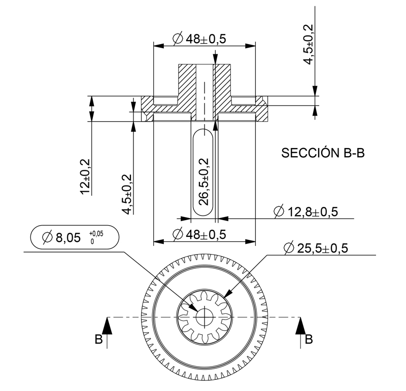 what is module in gear